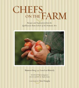 Chefs on the Farm book cover-click for larger image